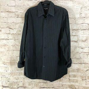 Men's express modern fit 1MX dress shirt medium